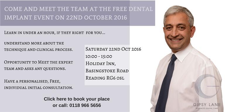 dental event banner