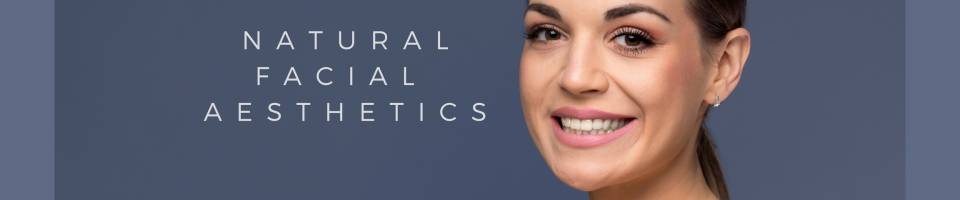 natural facial aesthetics banner