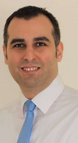 this is a photo of our dentist reza from gipsy lane