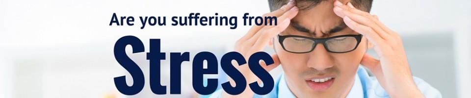 Stress banner